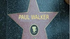 Paul Walkers star
