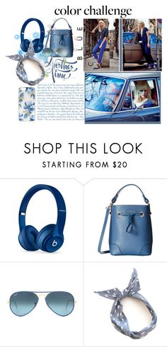 """""""Colours of 2016!- #4 Snorkel blue"""" by slynne-messer ❤ liked on Polyvore featuring Beats by Dr. Dre, Furla, Ray-Ban, Sonix, women's clothing, women's fashion, women, female, woman and misses"""