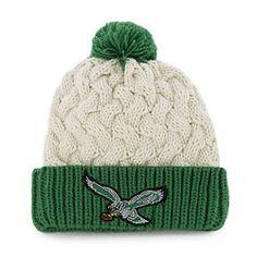 Philadelphia Eagles '47 Brand Women's Matterhorn Throwback Knit Hat $17.99 http://store.philadelphiaeagles.com/Philadelphia-Eagles-47-Brand-Womens-Matterhorn-Throwback-Knit-Hat-_33704818_PD.html?social=pinterest_pfid37-03161