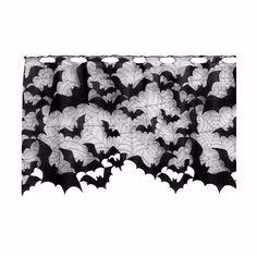 Great Bat Valances! https://www.sininlinen.com/store/home-decor/curtains-valances/bat-spider-valance.html