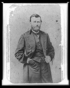 General Grant..one of my favorite men from history. We visited his home in Galena, Illinois.