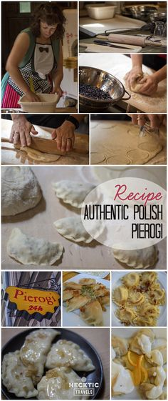 We learned how to make authentic pierogi in Poland! See the recipe here.