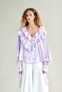 d6cd5e52a63 STYLE MAFIA Constanza Top - Purple. #stylemafia #cloth # Bishop Sleeve, Long