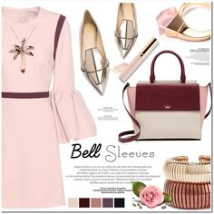 bell sleeves by nanawidia on Polyvore featuring Roksanda, Jerome C. Rousseau…