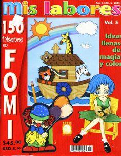 Revistas de Foamy gratis: revista manualidades en foami gratis