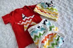 Newborn cloth diaper cover and embellished tee  by Zookaboo, $23.00