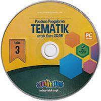 CD PANDUAN PENGAJARAN TEMATIK  UNTUK GURUSD/MI KELAS 3