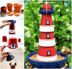 Ideas & Products: Claypot Lighthouses