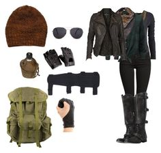 """""""Outfit for we see my Walking Dead OC / story"""" by symphoney on Polyvore featuring Maison Scotch, AllSaints, MANGO, Avant Toi and Raif"""