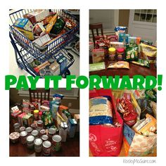 Food for Thought: Pay It Forward - Holiday Food Pantry Donations