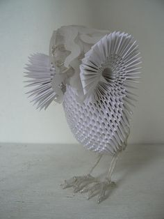 folded paper - what can you say about this! It is over the top!
