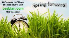 Daylight savings time - spring forward!