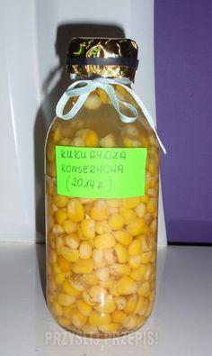 Kukurydza konserwowa na zimę