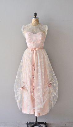 Tartuffe dress vintage 1930s dress 30s tulle party by DearGolden