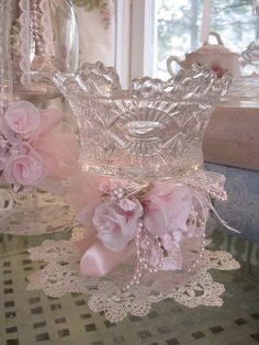 Ornate Candle/Candy dish
