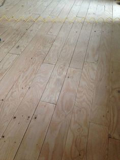 DIY Wide-plan floors (made from plywood!)