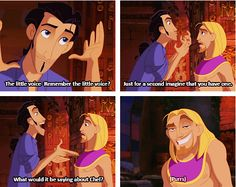 The Road to El Dorado. This part always has me falling of my chair in laughter, and my sister and I quote it all the time XD