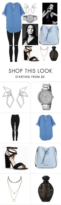 """""""I could have it all"""" by polysetter-862 ❤ liked on Polyvore featuring W. Britt, Michael Kors, Topshop, MANGO, Kate Spade, Armani Jeans and Kat Von D"""