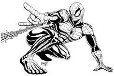 amazing spiderman tattoo designs