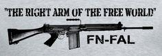 Image result for Fn Fal Fal Rifle, Falklands War, Tac Gear, Broken Arrow, Survival Weapons, Tactical Vest, Assault Rifle, Guns And Ammo, War Machine