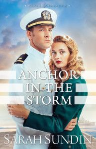 "Check out this awesome review by guest blogger H.B.E., for Sarah Sundin's new release entitled ""Anchor in the Storm""."