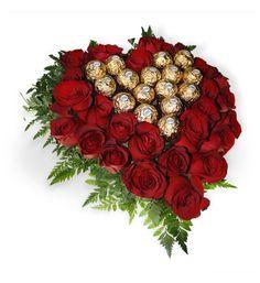 Hermosos arreglos para este 14 de febrero, sólo en floresymasflores.com
