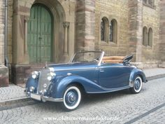 Mercedes 170 S Cabriolet-A , Baujahr 1950 - DIE OLDTIMERMANUFAKTUR