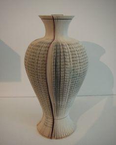 Folded Book Vase
