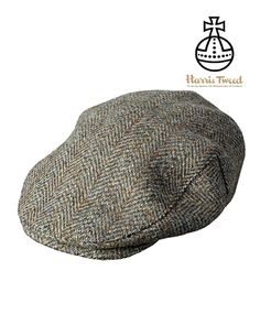 db92d038933c4 Cherry Tree Country Clothing - Hoggs of Fife Harris Tweed Flat Cap