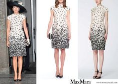 Max Mara printed silk dress Printed Silk, Prince Frederick, Queen Margrethe Ii, Max Mara, Danish Royal Family, Danish Royals, Silk Dress, Crown Princess Mary, Mary Elizabeth