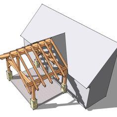 12x16 Timber Frame Porch Photo 2