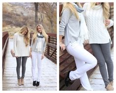 Winter White - How to wear white all year long