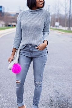 How To Build A Monochromatic Outfit | http://thedaileigh.com/product/monochromatic-dressing/