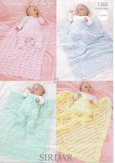 Couverture en tricot pour nouveau-n/é /épaisse et chaude au crochet cadeau pour gar/çon et fille 100 x 80 cm