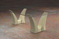 Articolo 3EA-1 Tavolino da salotto Apollo - Finitura  effetto  pietra.Misure  cm 110 x 65 - Altezza cm 37 - Peso  Kg.45 - Vetro   rettangolare - temperato ... 7251501d4e50