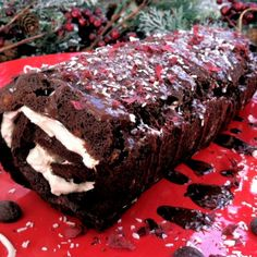 Holiday Parties! Peppermint Brownie Roll – Grain, Dairy, Nut Free