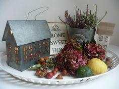Made by Deni .. podzimní dekorace na stole