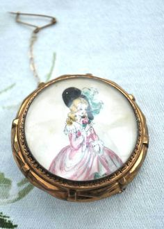 Vtg Thomas Mott Georgian Lady Brooch – Top Notch Vintage