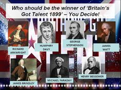 Try this #assembly in the style of Britain's Got Talent aimed at choosing the best inventor of the Industrial Revolution.