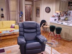 Joey's apartment on the TV show Friends 2