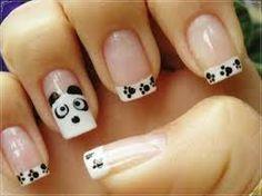 Resultado de imagem para desenho de panda nas unhas