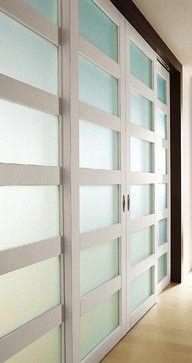 instead of dinning room wall separation... Exit 04 Sliding Door - modern - interior doors - Modernus