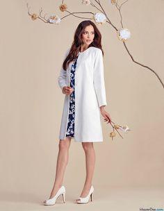 Simplicity Sewing Pattern S8055 Misses' Dress & Coat or Jacket. Misses' dress has short or 3/4 length raglan sleeves plus overcoat and jacket with full length raglan sleeves … WeaverDee.com