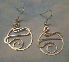 Tutorial: Hoop and Squiggle Earrings