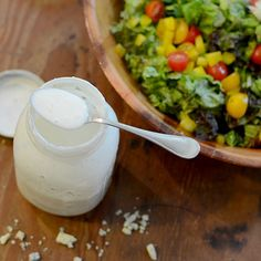 Blue Cheese Ranch Dressing