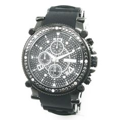 JoJino 2.25ctw Mens Diamond Watch J1173-SS Joe Rodeo. Save 87 Off!. $359.00. Functions:  Chronograph /24 hours. Size:  1 3/4 in (45mm) not including the crown. Water Resistant:  Water resistant to 100 m. Movement:  Fine Japan-made Quartz Movement. Diamond Weight:  2.25 ctw.