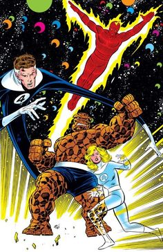 The Fantastic Four by John Buscema