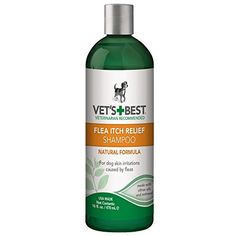 Vet's Best Flea Itch Relief Dog Shampoo, 16 oz -- Continue to the product at the affiliate link Amazon.com.