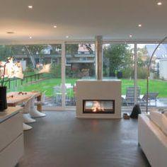 neubau eines einfamilienhauses mit garage 50999 kln moderne wohnzimmer von strick architekten ingenieure - Modernes Wohnzimmer Am Abend