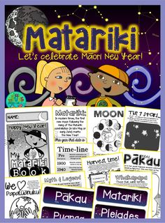 Best Matariki books for Primary {  FREE follow activity sheets} by Green Grubs Garden Club